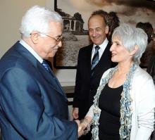 """יו""""ר הרשות הפלסטינית אבו מאזן"""